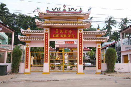 Chùa Sùng Hưng ở Phú Quốc