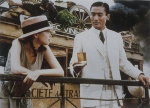 Hai nhân vật chính trong bộ phim Người tình