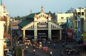 Chợ Sadec ở Đồng Tháp