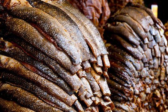 Mắm cá ở chợ Châu Đốc