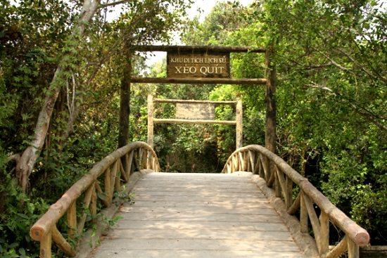 Khu du lịch Xẻo Quýt Đồng Tháp