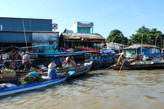 Du lịch Cần Thơ tết tây 2016 - Chợ nổi Cái Răng
