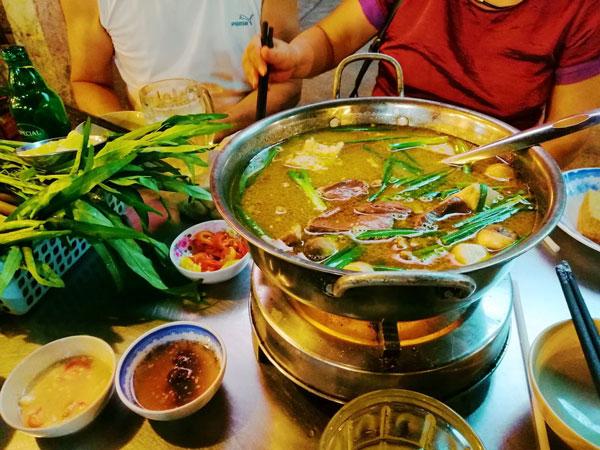 Món Vịt nấu chao Thành Giao nổi tiếng