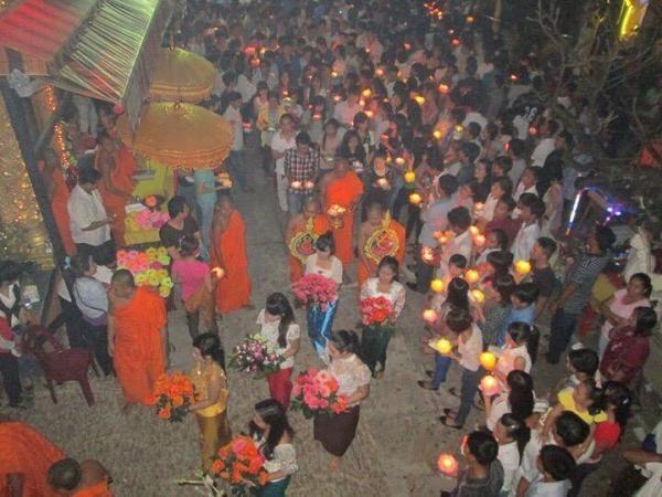 Không khí Lễ Ok Om Bok ở Trà Vinh