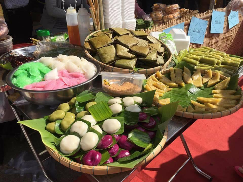 Đa dạng các loại bánh trong Lễ hội bánh dân gian Nam Bộ