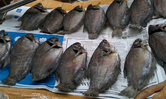Khô cá sặc bổi đặc sản Cà Mau