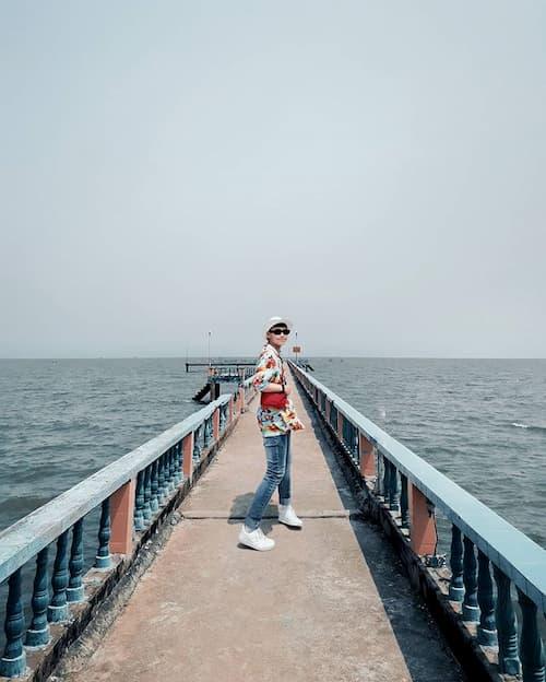 Biển Tân Thành dia diem du lich tien giang