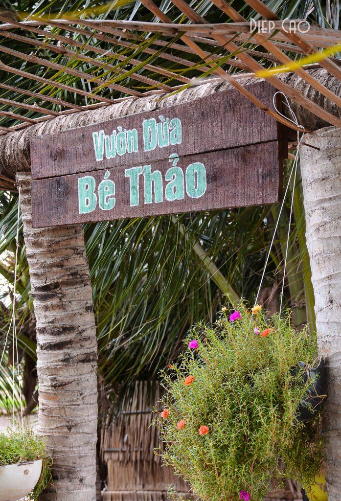Vuon dua Be Thao