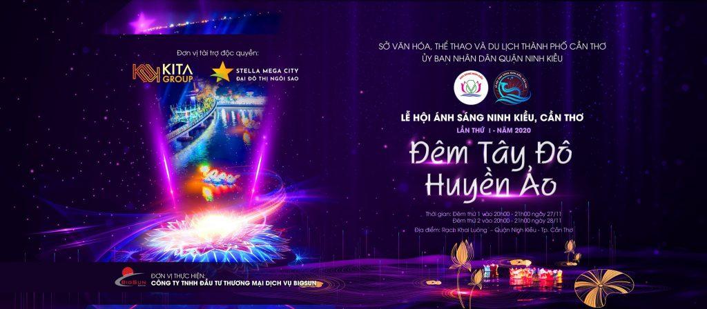 Thông tin Lễ hội ánh sáng Ninh Kiều, cần Thơ 2020