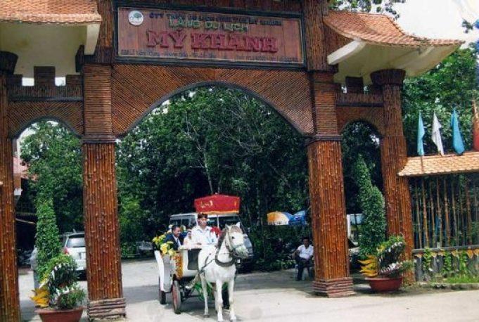 Khu du lịch Mỹ Khánh - miền vườn miền Tây nổi tiếng ở Cần Thơ